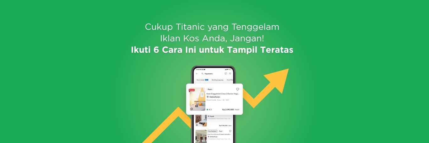Aplikasi iklan kost gratis