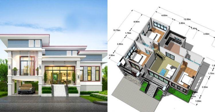 7 Gambar Desain Rumah Minimalis Modern 2021 Cocok Untuk Keluarga Kecil Mamikos Info